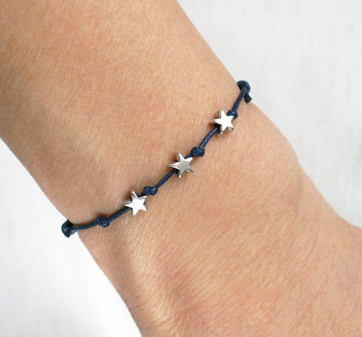 Little Stars Bracelet (many colors to choose)