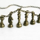 Chess Piece Necklace