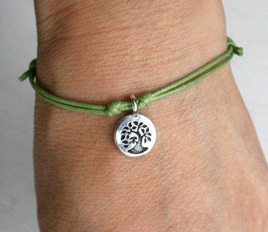 Tree of Life Bracelet, Tree Bracelet, Tree of Life Anklet, Tree Anklet (many colors)