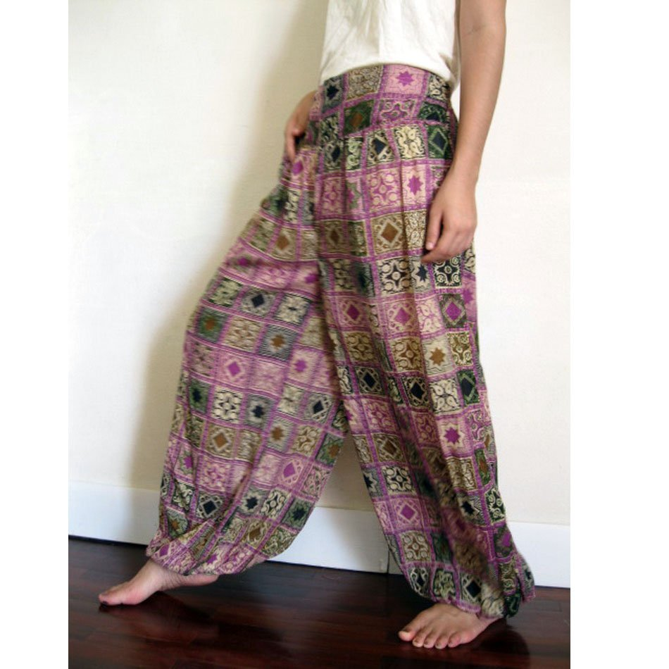 India Cotton Aladin Pants 01