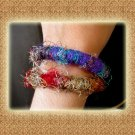 India Nepal Classic Colorful Silk String Bracelets  (A11)