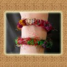 Free Shipping Hippie Gypsy Funky Colorful Nepal silk Handcrafted Bracelets  (A09)