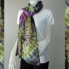 Tie Dye Cotton Handmade Beach Scarve Shawl (02)