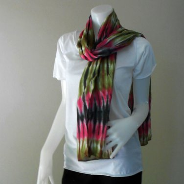 Free Shipping Chic women Long Warm Scarves Soft Wrap Scarf  Tie Dye Cotton Shawl (05)