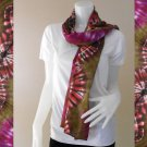 Free Shipping 100% Tie Dye Cotton Boho Scarf Shawl (10)
