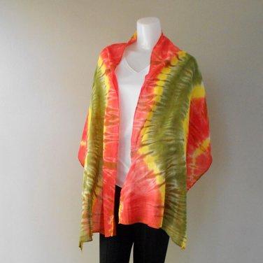 Free Shipping New-Womens-Tie-Dye Cotton Shawl-Fashion-Scarf(15)