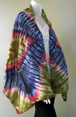 Free Shipping New-Womens-Tie-Dye Cotton Shawl-Fashion-Scarf (18)