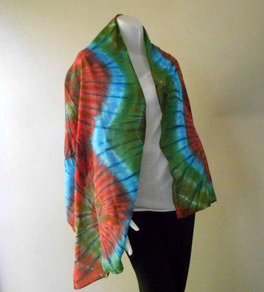 Chic Women Long Warm Scarves Soft Wrap Scarf Tie Dye Cotton Shawl (19)