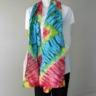 Free Shipping New-Womens-Tie-Dye Cotton Shawl-Fashion-Scarf (27)