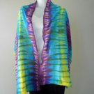 Free Shipping Multi-Color Tie Dye Cotton Handmade Scarf Wrap Shawl