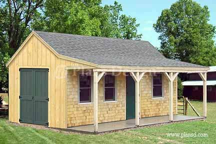 Garden Sheds With Porch dan ini: garden shed plans with porch