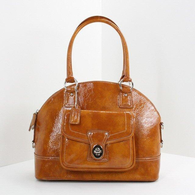 New Women's Satchel Bag - Classic Tan Handbag Item # WMS113HB-MP-93-1656