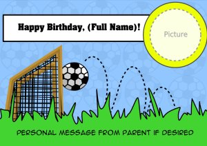It's A Soccer Birthday