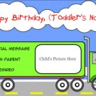 Truckin' To His Next Birthday
