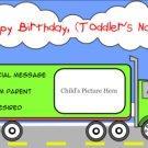 Truckin' To His Next Birthday