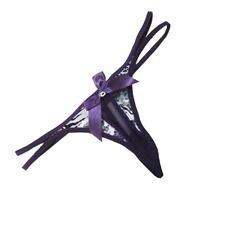 Multi-Print Purple G-string