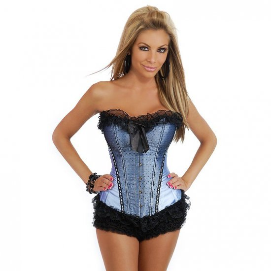 Frilly Look Corset