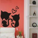 "Cats Decal Sticker 12""*13"""