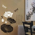"Lotus Decal Sticker 23""*16"""