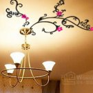 Wall decals and vinyl wall art - flower for light wall decal sticker 39 1/2&quot;*21 1/2&quot;