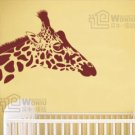"Wall decals and vinyl wall art - giraffe wall decal sticker 17""*22 1/2"""