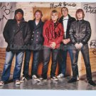 SUPERB THE ALARM SIGNED PHOTO + COA!!!
