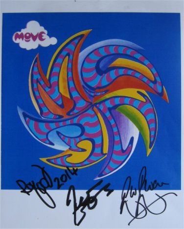 SUPERB THE MOVE SIGNED PHOTO + COA!!!