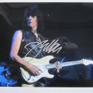 SUPERB JEFF BECK SIGNED PHOTO + COA!!!