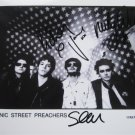 SUPERB MANIC STREET PREACHERS SIGNED PHOTO + COA!!! ORIGINAL LINE UP!
