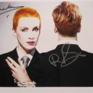SUPERB EURYTHMICS SIGNED PHOTO + COA!!!