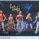 SUPERB GIRLS ALOUD SIGNED PHOTO + COA!!!