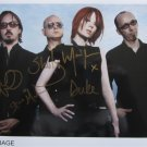 SUPERB GARBAGE SIGNED PHOTO + COA!!!