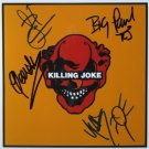 SUPERB KILLING JOKE SIGNED PHOTO + COA!!!