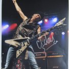 SUPERB MICHAEL SCHENKER SIGNED PHOTO + COA!!!