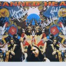 SUPERB CANNED HEAT SIGNED PHOTO + COA!!!
