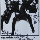 SUPERB PSYCHELDELIC FURS SIGNED PHOTO + COA!!!