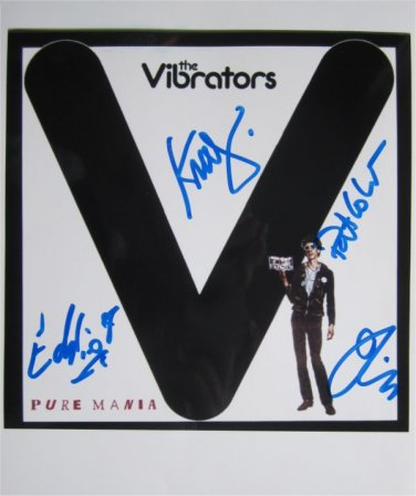 SUPERB VIBRATORS SIGNED PHOTO + COA!!!