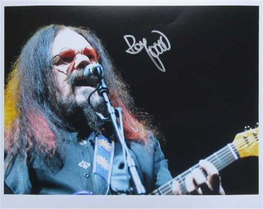 SUPERB ROY WOOD (WIZZARD) SIGNED PHOTO + COA!!!