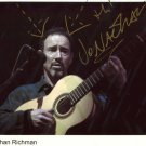 SUPERB JONATHAN RICHMAN SIGNED PHOTO + COA!!!