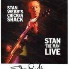 SUPERB STAN WEBB (CHICKEN SHACK) SIGNED PHOTO + COA!!!