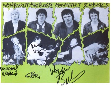 SUPERB SLAUGHTER AND THE DOGS SIGNED PHOTO + COA!!!
