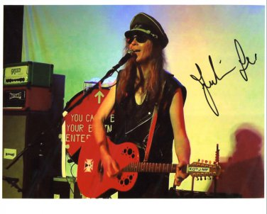 SUPERB JULIAN COPE SIGNED PHOTO + COA!!!