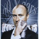 SUPERB PHIL COLLINS SIGNED PHOTO + COA!!!