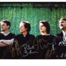 SUPERB PORCUPINE TREE SIGNED PHOTO + COA!!!