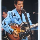 SUPERB CHRIS ISAAK SIGNED PHOTO + COA!!!