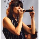 SUPERB CHRISSIE HYNDE SIGNED PHOTO + COA!!!
