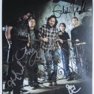 SUPERB PEARL JAM SIGNED PHOTO + COA!!!
