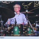 SUPERB GINGER BAKER SIGNED PHOTO + COA!!!