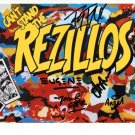 SUPERB REZILLOS SIGNED PHOTO + COA!!!