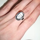 Edgar Allan Poe, poetic portrait ring